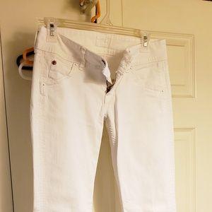 Denim - Hudson white jeans